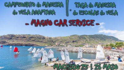 Campeonato da Madeira de Vela Adaptada: baía de Machico
