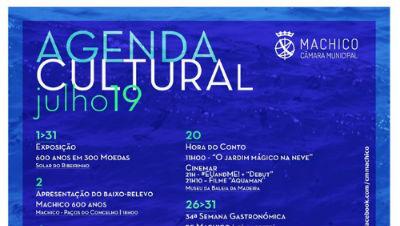 Agenda Cultural de Machico | Julho