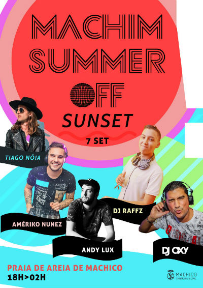 SUNSET | Machim Summer Off | Semana da Juventude