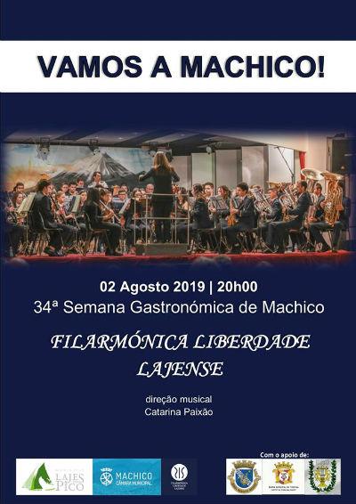 Machico recebe Filarmónica Liberdade Lajense