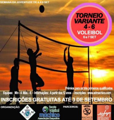 Torneio de Voleibol de Praia - Semana da Juventude de Machico