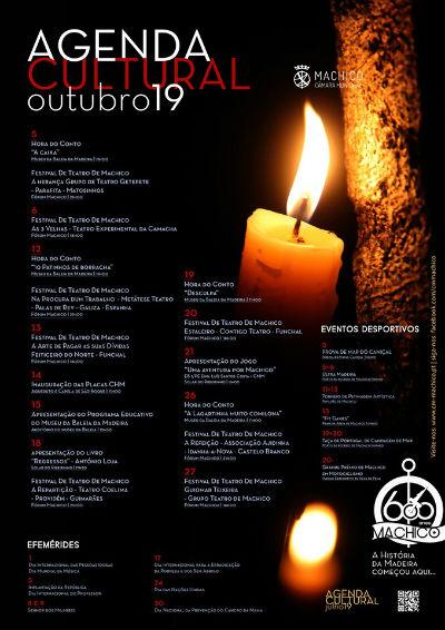 Agenda Cultural de Machico | outubro