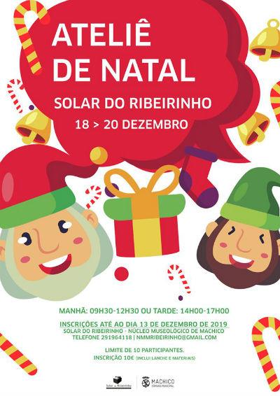 Ateliê de Natal | Solar do Ribeirinho