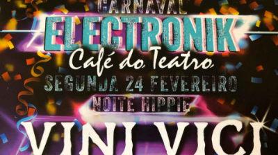 Carnaval Electronik | bilhete grátis com cartão jovem